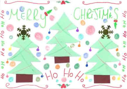 Trust's Christmas card designed by patient