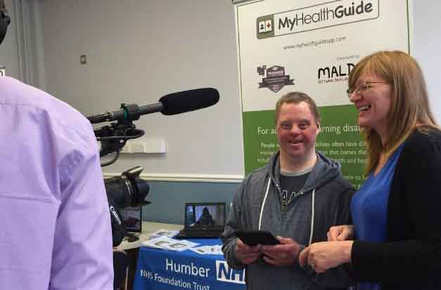 Clear communication with app for adults with learning difficulties