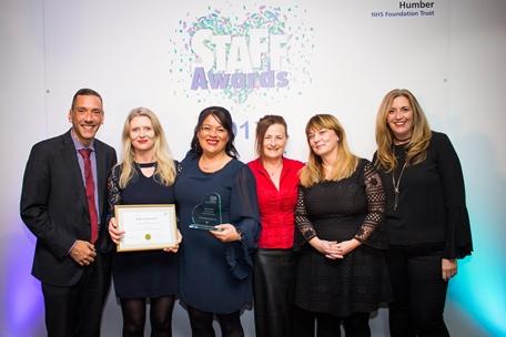 Perinatal mental health team scoops prestigious award