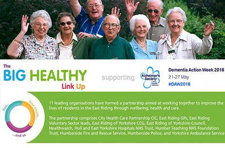 As Dementia Action Week begins, Trust urges people to 'help create dementia-friendly communities'