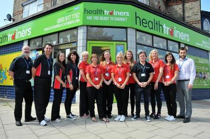 Local NHS Health Trainers promote Mental Health Awareness Week