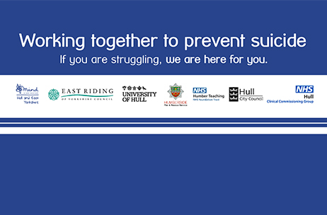 What is being done in Hull and East Yorkshire this World Suicide Prevention Day