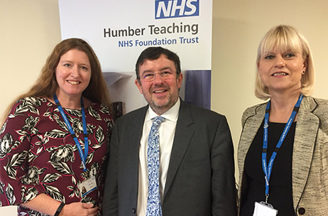 Chief Executive of NHS Providers visits Humber Teaching NHS Foundation Trust