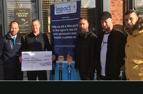 Local DJ's gift £5000 to Hull's new children's mental health unit