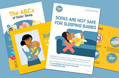 Information about safer sleep from The Lullaby Trust