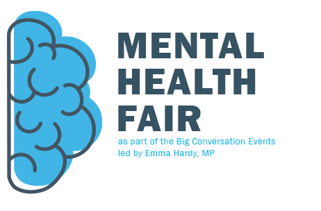 Drop in and join us at our Mental Health Fair!