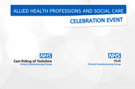 Allied Health Professions and Social Care Celebration Event