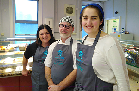 Inspiring Café Opens at NHS Trust Headquarters